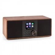 Auna Connect 120 Radio internet Bluetooth WiFi DAB/DAB+ FM RDS USB MP3 marron