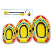 Barcuta gonflabila pentru copii cu vasle