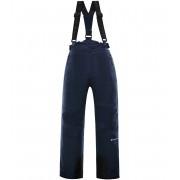 ALPINE PRO ANIKO 3 Dětské lyžařské kalhoty KPAP168602 mood indigo 116-122