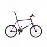 Csepel Frisco fixi kerékpár Lila