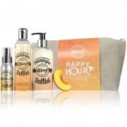 Boozi Bodycare Champagne Bellini Happy Hour Wash Bag Gift Set