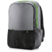 HP 15.6 inch Laptop Backpack (Black Grey Green) Laptop Bag(Black, Grey, Green)