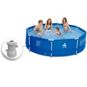 Jilong bazen sa metalnom konstrukcijom i filter pumpom 360 X 76cm