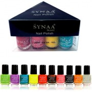 Synaa Nail Polish Spring Collection 2018 - Set of 10 Pieces - Multicolor Set #4 (240g)