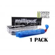 Milliput Super Black két komponensű epoxy tömítő formázó gitt