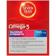 Seven Seas Omega 3 Maximum Strength - 30 Capsules