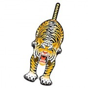 WindnSun SkyZoo Tiger Nylon Kite-59 Inches Tall by Brainstorm