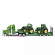 Siku Camion con Rimorchio Ribassato per Trasporto Trattori John Deere 1:87 541257