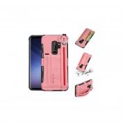 Para Samsung S9 Estuche para tarjeta de mano con todo incluido TPU