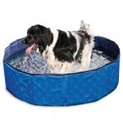 Karlie Flamingo DOGGY POOL Swimmingpool für Hunde - Blau gemustert - 80 cm