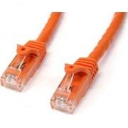 Cablu startech Kabel Rj45 CAT6, 5m, portocaliu (N6PATC5MOR)