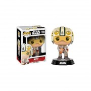 Funko Pop Rey With Helmet Star Wars The Force Awakens Edición Especial
