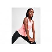Nike Running Miler Swoosh Tank Top - alleen bij JD - Pink Gaze/White - Dames