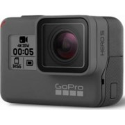 Camera video outdoor GoPro Hero 5 Black Edition 4K cu GPS Bonus Sistem de prindere extensibil + Acumulator GoPro pentru GoPro + Card de Memorie Kingston