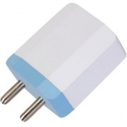 Voltsy 3.4 Amp Dual USB Smart Wall Charger Travel Adapter (White) For Android Mobile Smart Phones