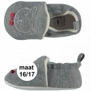 Apollo Geboorte kado jongetje baby slofjes met beer maat 16/17