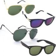 Fash-On India Aviator Sunglasses(Multicolor)