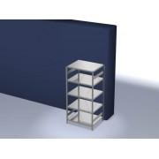 Discountoffice Magazijnstelling Grondveld HxBxD 2000x1060x835mm Vakl. 130kg