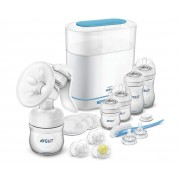 Philips Avent set incepator Natural 21 piese All in One 0-6 luni