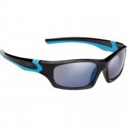 Alpina FLEXXY TEEN Kinder - Sportbrille - schwarz
