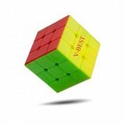 V-Best High Speed Sticker Less Problem Solving Cubes 3x3x3 Multicolor 3-D Puzzles Cube