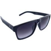ELS Rectangular Sunglasses(Black)