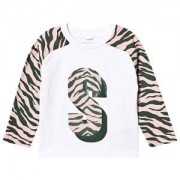 Stella McCartney Kids Zebra Print T-shirt Vit 10 years