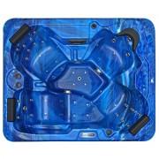 Spatec Jacuzzi Spa extérieur - SPAtec 500B bleu
