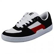 Etnies Senix Lo Zapatillas de Skate para Hombre, Negro/Blanco/Rojo, 14 US