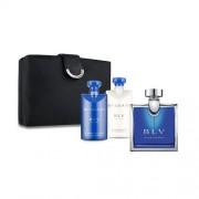 Bvlgari Blv 100ml Apă De Toaletă + 75ml After Shave Balsam + 75ml Gel de duș + Bag Set