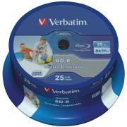 VERBATIM 43811 - BD-R, 25GB, bedruckbar, 25er Spindel