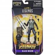 Hasbro Figura Viuda Negra Serie Marvel Legends Vengadores: Infinity War (15 cm) - Hasbro