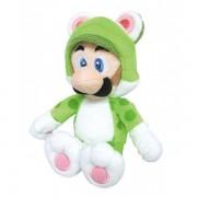 Sanei Peluche Super Mario - Cat Luigi 25 Cm