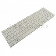 Tastatura Laptop Packard Bell LV44HC alba