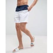 ASOS Сине-белые шорты для плавания средней длины ASOS - Темно-синий