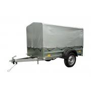 UNITRAILER Lichte aanhangwagen Garden Trailer 200 Unitrailer met complete huif 200 × 106 750 kg