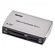 четец - Card Reader 35 in 1 - USB 2.0 - HAMA-49009