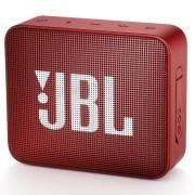 JBL Go 2 Wireless Portable Speaker - безжичен портативен спийкър за мобилни устройства (червен)