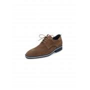 Lloyd Dames Veterschoenen Jersey van kalfssuèdeleer Van Lloyd bruin