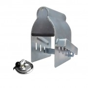 ProPlus 341326S vonóhorog kapcsolófej zár lemez lakattal