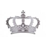 "Höffner Cut-Out ""Crown"" ¦ silber ¦ Maße (cm): B: 50 H: 50"