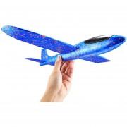 Nuevo Estilo Niños Modelo De Avion De Juguete Mano Lanzar Lanzar Avión Colorido Espuma Avión De Juguete, Tamaño: 35 * 8,0 * 3.0cm (azul)