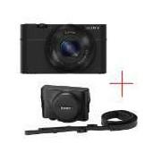 Sony Cyber Shot DSC-RX100 black + Leather case RX100LCJXXDI.YS