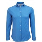 Desoto Hemd Bügelfrei Royal Oxford - Blau Größe XXL