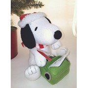 Peanuts Snoopy's Letter to Santa Stuffed Animal With Sound and Motion Interactive Stuffed Animals Movies & TV