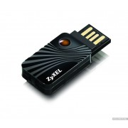 LAN Card, USB, Zyxel NWD2105, Ultra Compact Wireless-N 150Mbps Lite (91-005-353001B)