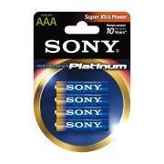Sony Stamina Platinum LR03-mikroelem 4 db