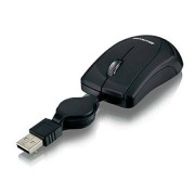 Multilaser Mini Mouse Multilaser USB Mini Retrátil Preto - MO159 MO159