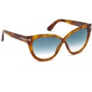 Tom Ford Cat-eye Sunglasses(Blue)