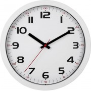Ceas de perete cuarţ 305 x 305 x 38 mm alb TFA Dostmann 60.3050.02